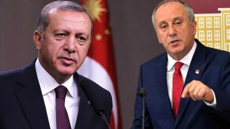 Muharrem İnce'de Erdoğan'a sert sözler…