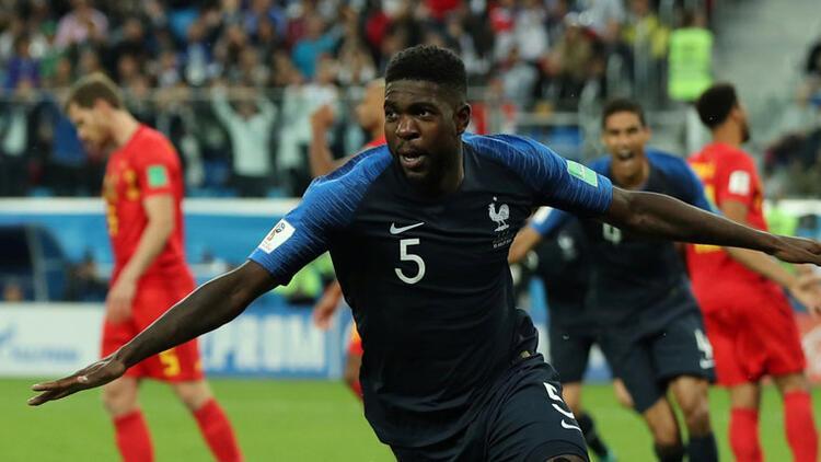 Dünya Kupasında ilk finalist Fransa oldu, Belçika kupaya veda etti 56