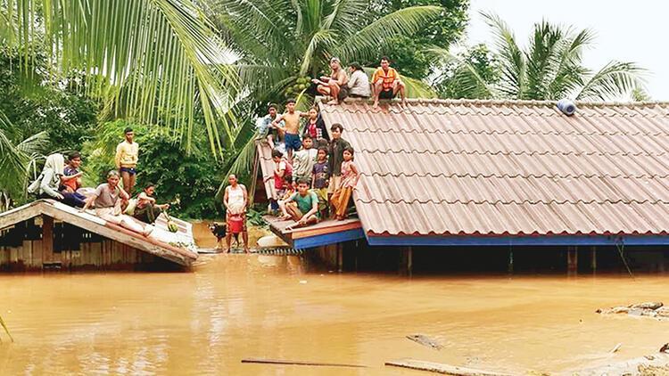 Baraj çöktü... Laos'ta facia: 24 ölü, yüzlerce kayıp var