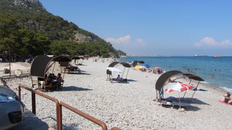 Antalya'da 12 liralık 'sahil' zaferi