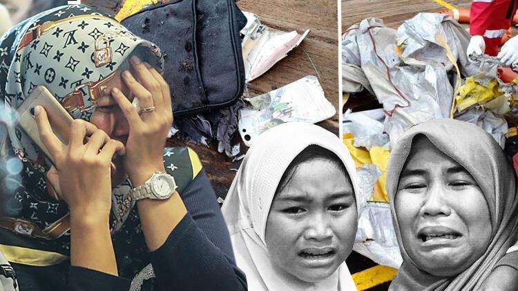 Son dakika: Endonezya'da düşen uçağın enkazına ulaşıldı