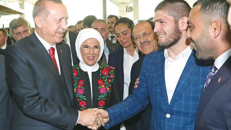 Khabib Nurmagomedov: Cumhurbaşkanı Erdoğan'la Türkçe konuşacağım