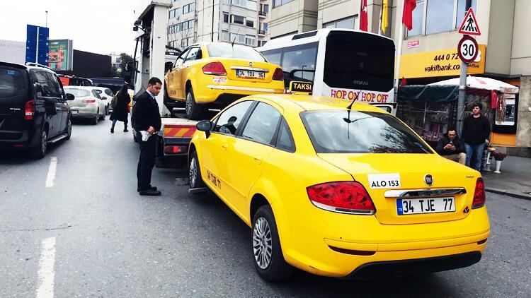 İstanbul'da şok operasyon! 120 taksi her yerde aranıyor...