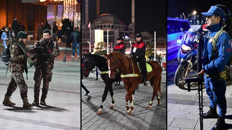Taksim'de son durum...