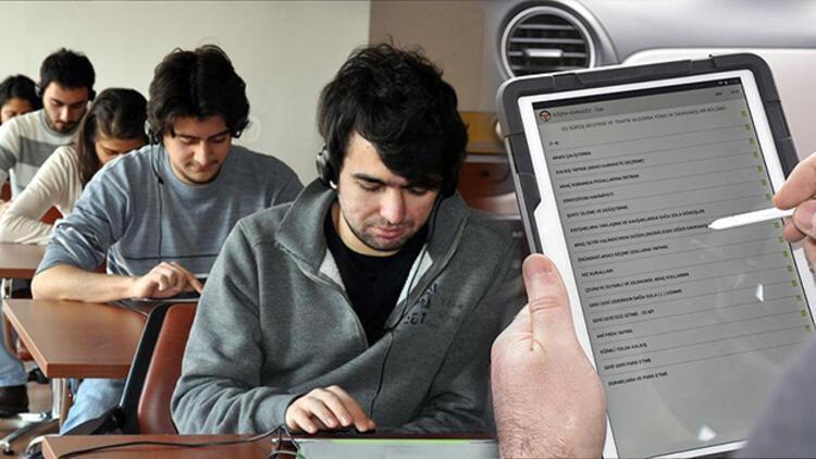 Ehliyet Sınavı Haftanın 7 Günü Gerçekleştirilecek Ehliyette E Sınav