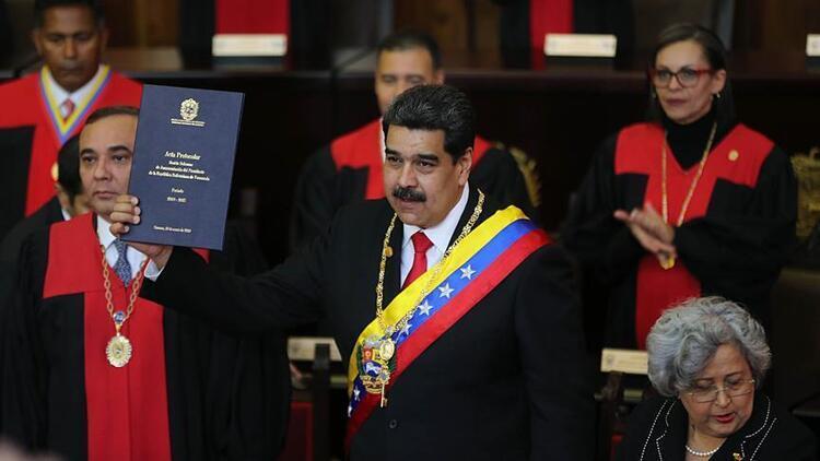 ABD, Venezuelada petrolü koz olarak kullanıyor