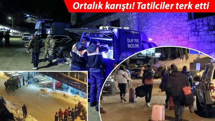 Son dakika: Uludağ'da cinayet! Jandarma 17 kişiyi gözaltına aldı
