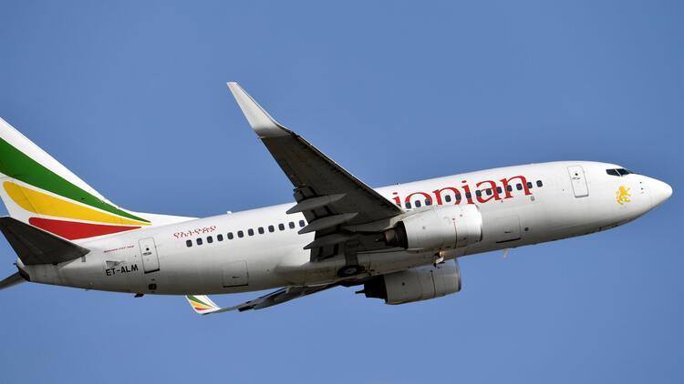 Son dakika... Etiyopya Hava Yolları'na ait uçak düştü