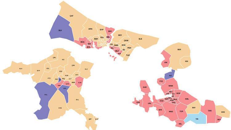 3 büyükşehrin belediye meclisleri netleşiyor