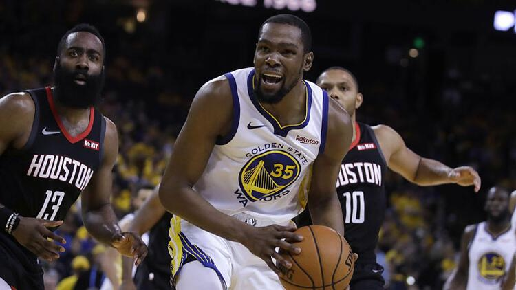 Golden State Warriors'ta Kevin Durant şoku