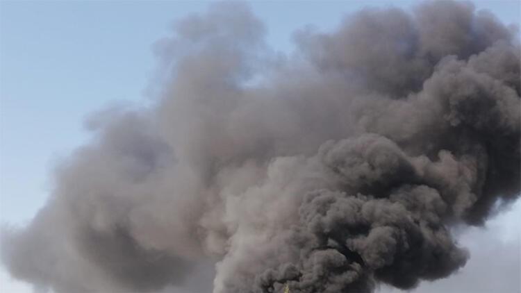 Mersin'de fabrikada yangın