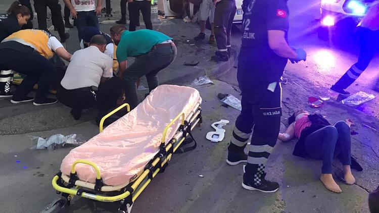 Ankara'da dehşet! 8 yaralı var... Arkasına bakmadan kaçtı...