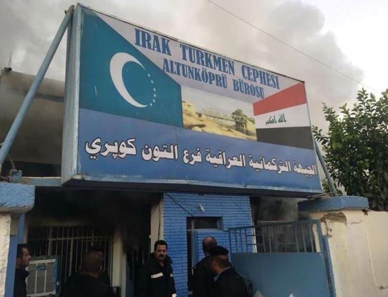 Irak Türkmen Cephesi Bürosuna Saldırı