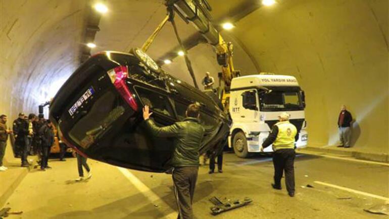 Üsküdar Tantavi tünelinde kaza ile ilgili görsel sonucu
