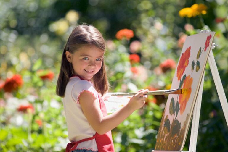 Resim yapmanın çocuk gelişimine faydaları