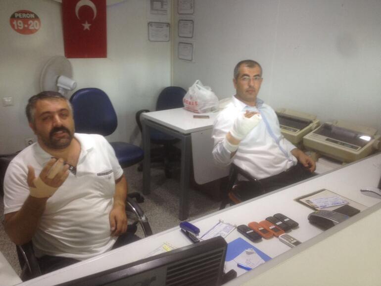 Kayseride Suriyeliler ile otogar işletmecileri birbirine girdi