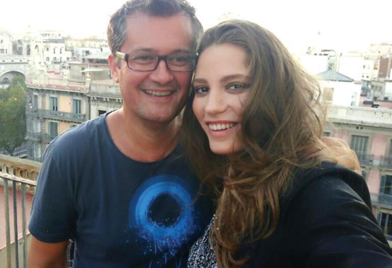 Cengiz Semercioğlu, Barselona'da Serenay Sarıkaya ile buluştu