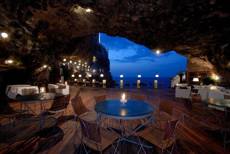Dünyadaki en romantik mağara restoran