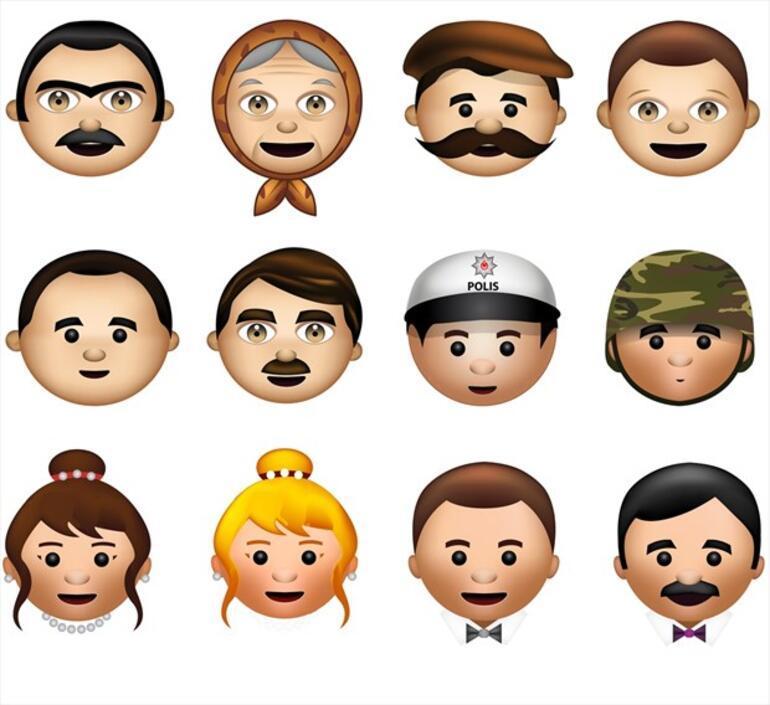 Türk kullanıcılara özel emoji klavye
