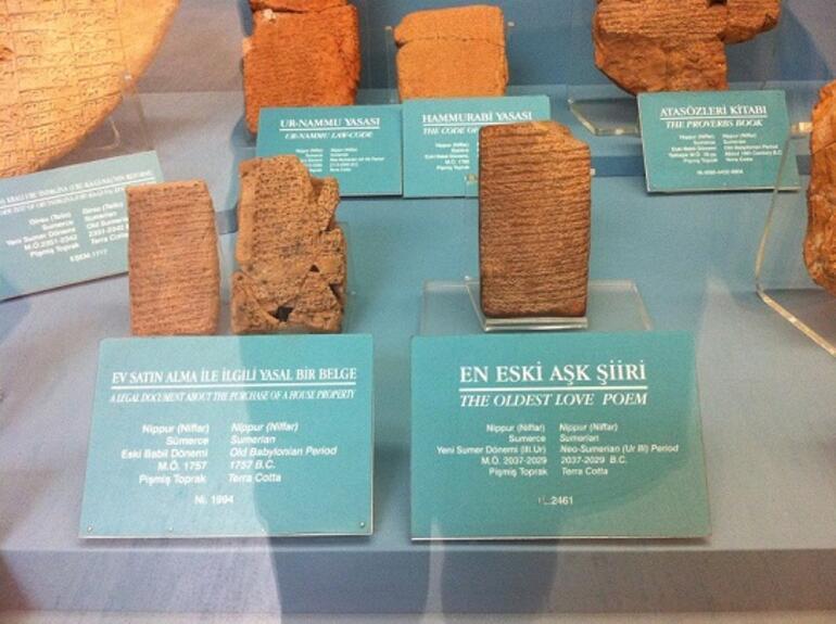 Tarihte yazılan ilk aşk mektubu bulundu