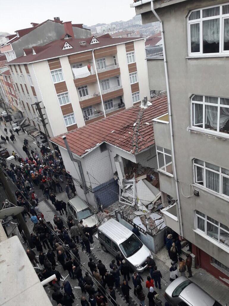 İstanbul Küçükçekmece doğalgaz patlaması