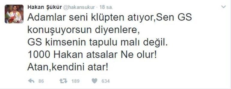Hakan Şükürden küstah Galatasaray açıklaması