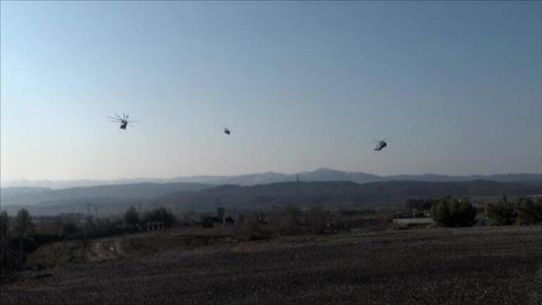 Son dakika: PKKya büyük operasyon.. Gizli sığınak ve barınak bulundu