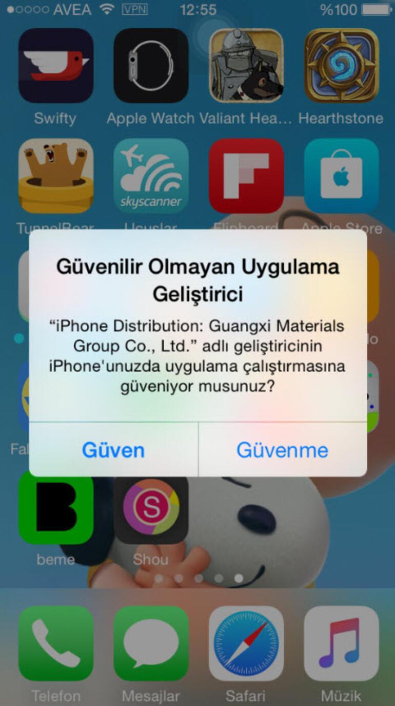 iphone ekran videosu kaydetme uygulamas