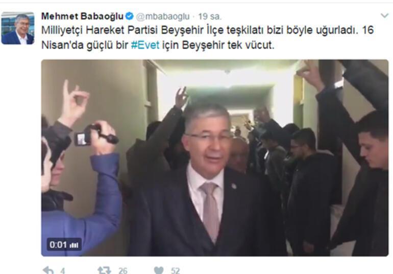 AKP Milletvekili Bozkurt selamı ile karşılandı..Sosyal medyada gündem oldu