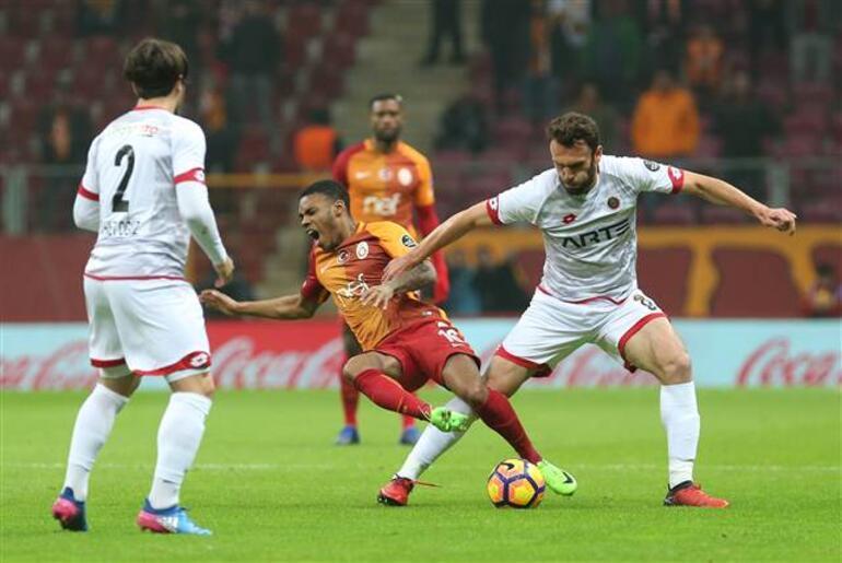 Galatasaray 3-2 Gençlerbirliği / MAÇIN ÖZETİ
