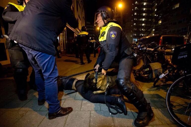 Türk vatandaşlarına Hollandada skandal müdahale