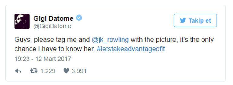 Harry Potterdan Datomeye cevap