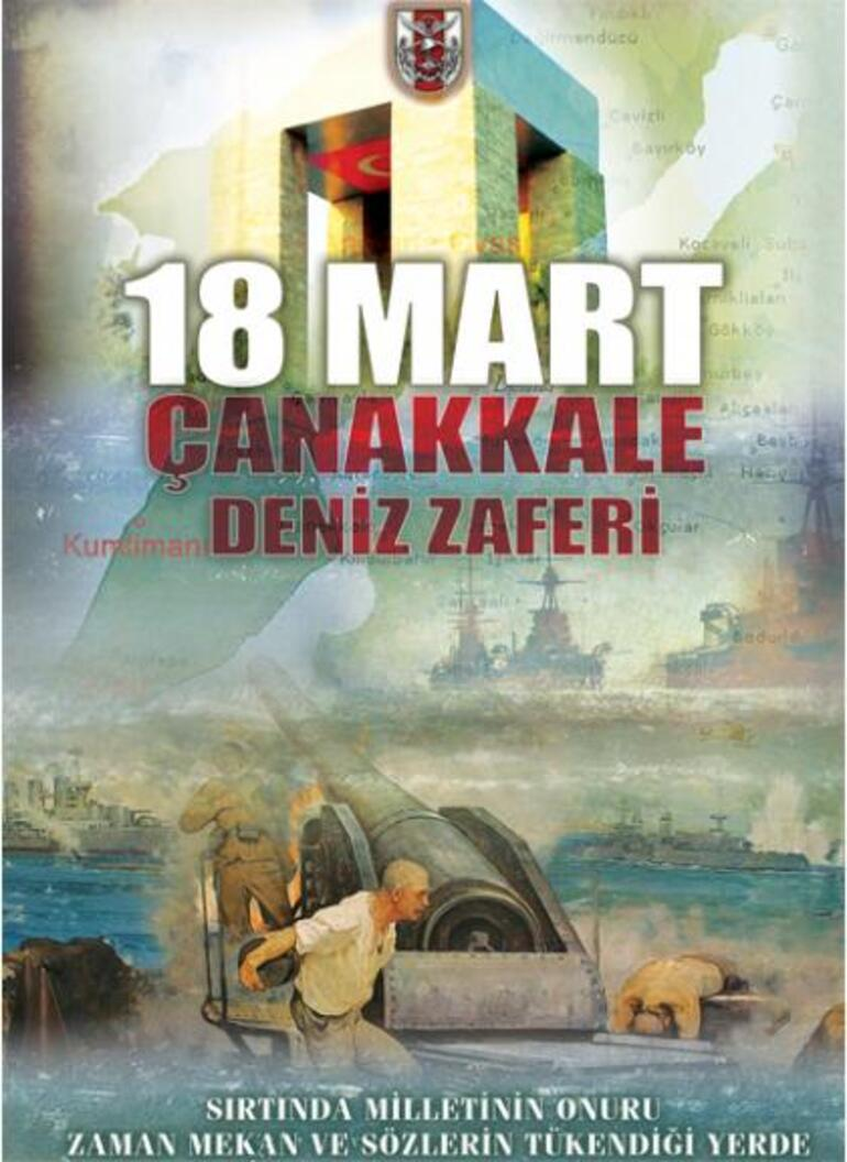 TSKnın Atatürksüz Çanakkale afişleri sosyal medya tepki gördü