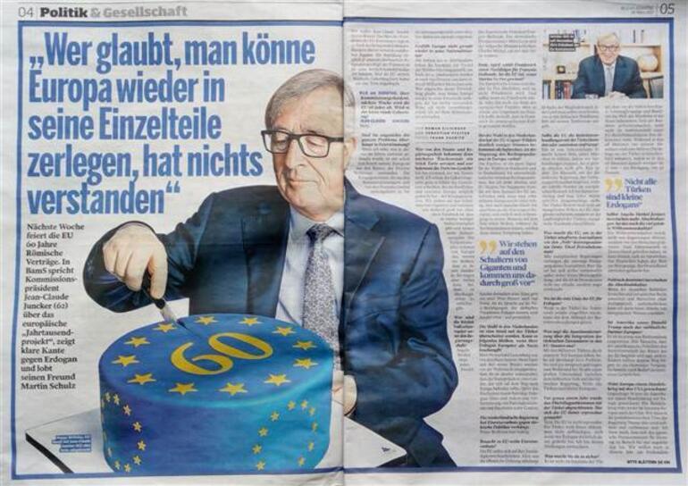 AB Komisyonu Başkanı Juncker, Türkiyeyi suçladı