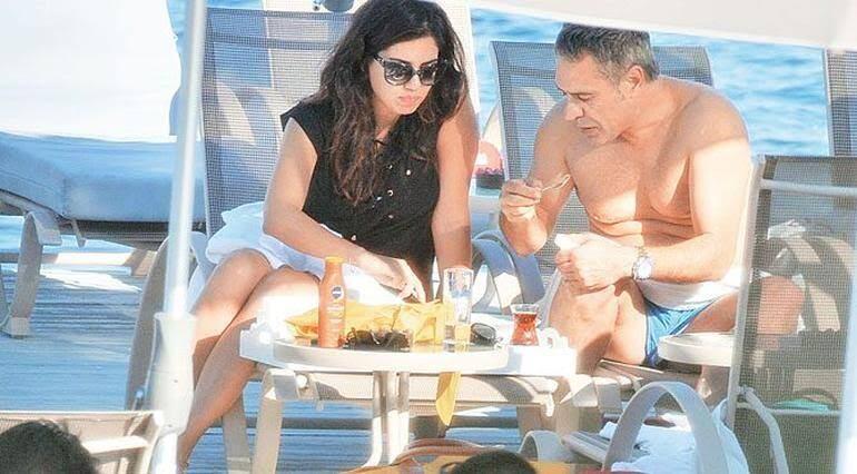 Ersun Yanal, Bodrumda nişanlandı