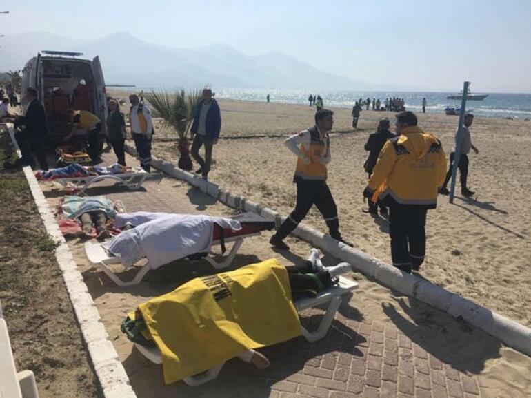Son dakika: Kuşadasında mülteci botu battı... Çok sayıda ölü var
