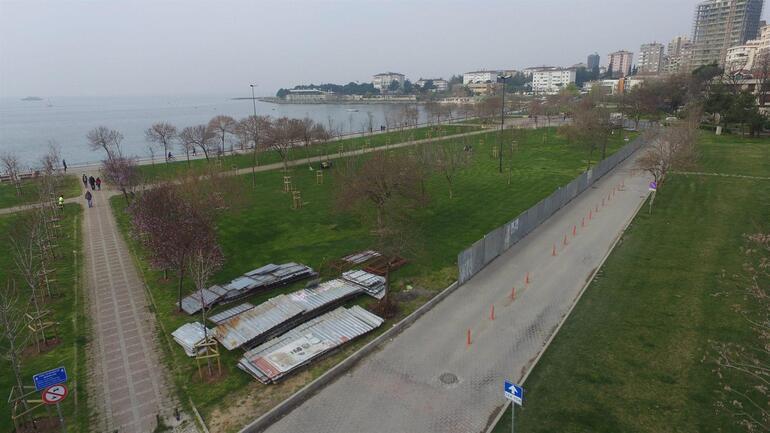 Fenerbahçe sahilindeki proje iptal edildi