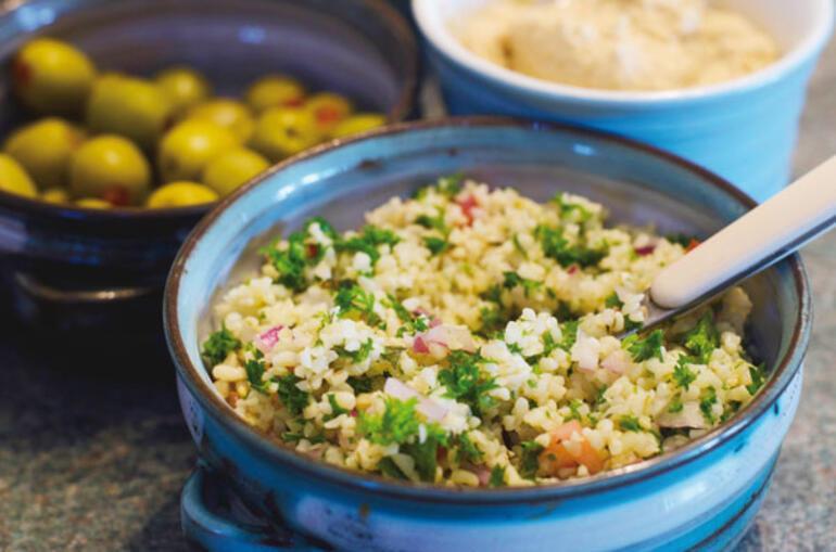 Салат из булгура по турецки, фото