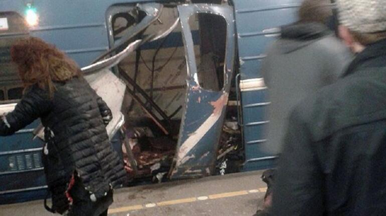 Son dakika: Rusyada metroda patlama