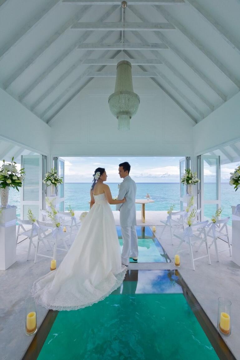 En güzel balayı odası / Maldivler