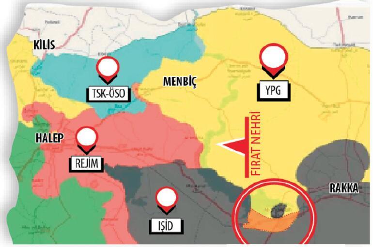 Türkiyenin kırmızı çizgisinde YPG oldu bittisi