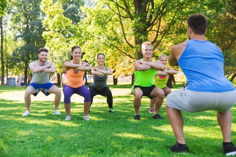 Basen, bacak ve kalçanızı çalıştıracak pratik egzersizler