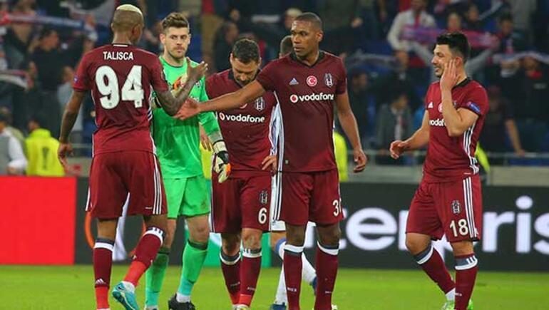 Lyon Beşiktaş maç sonucu 2-1 | İşte maçın özeti