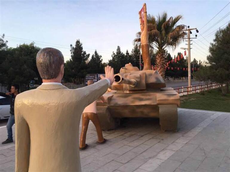 Картинки по запросу erdogan heykeli harran