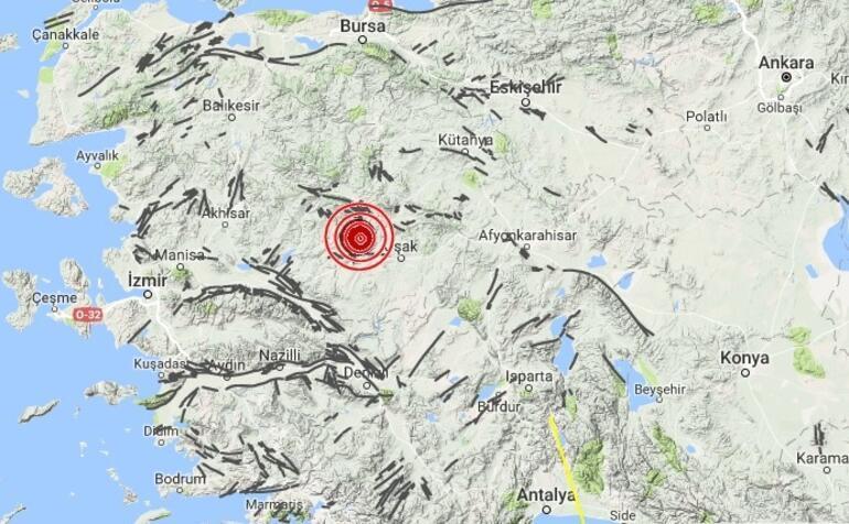 Son dakika... Manisada korkutan deprem