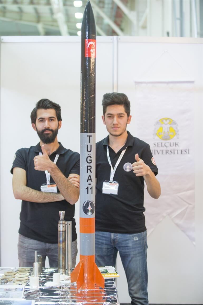 Üniversiteliler 1000 TL'ye 'roket' yaptı