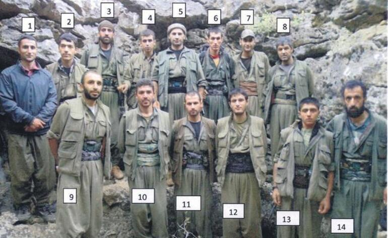 PKKnın yok oluşunun fotoğrafı