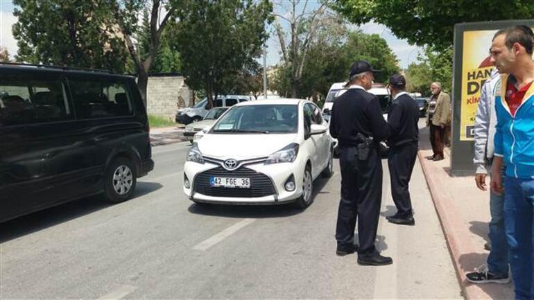 Trafikte dehşet Magandalar hamile doktoru sırtından vurdu