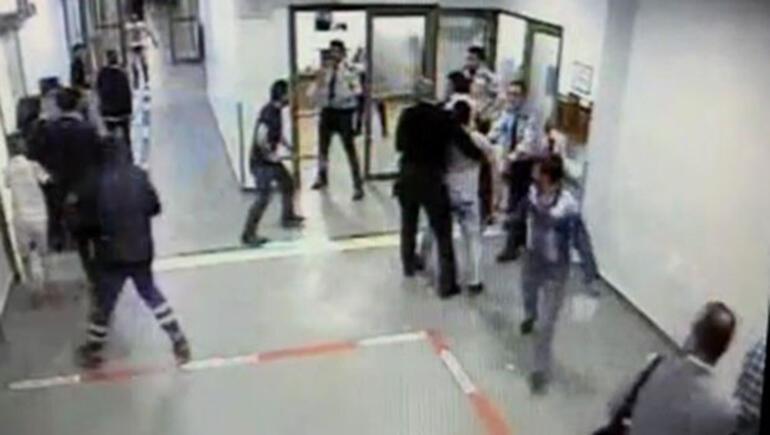 Devlet hastanesinde baltalı dehşet