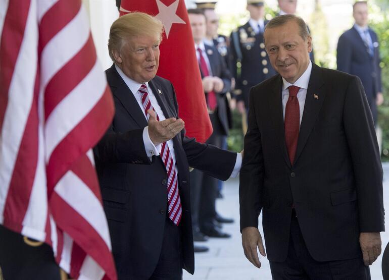 Son dakika: Trumpla basın toplantısında Erdoğandan flaş YPG ve FETÖ mesajları